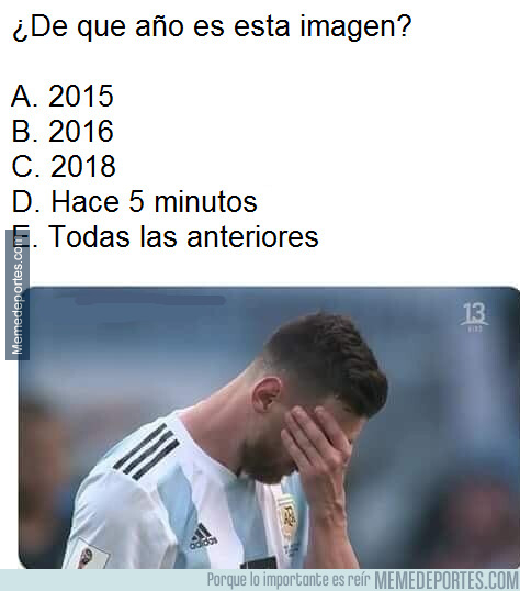1079942 - El historial de fracasos de Messi con Argentina es tan grande como su palmarés de premios