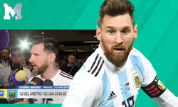 Enlace a La rajada monumental de Messi contra la Conmebol, el VAR tras perder en la Copa América frente a Brasil