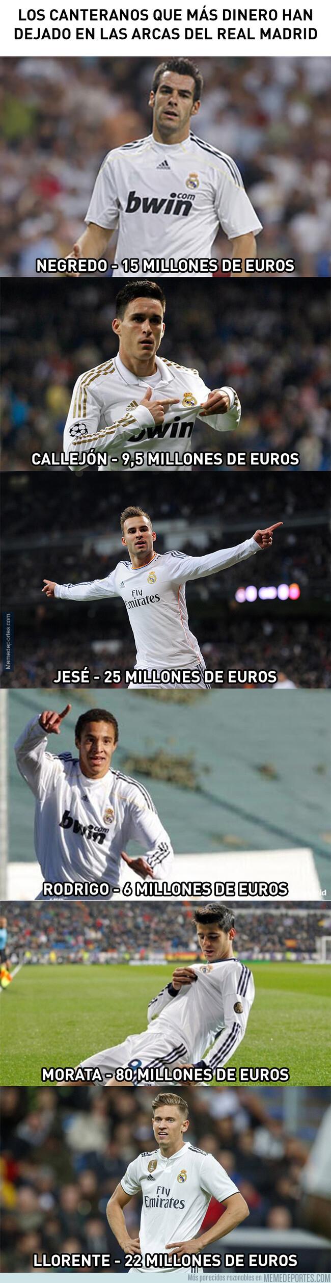 1079999 - Los canteranos que más dinero han aportado al Real Madrid