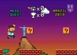 Enlace a Messi no puede completar la partida, vía @brfootball