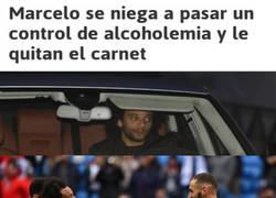 Enlace a Benzema sabe lo que son los problemas con el coche