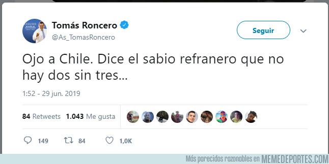 1080096 - Roncero gafó a Chile