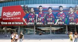 Enlace a La contradictoria publicidad del Camp Nou