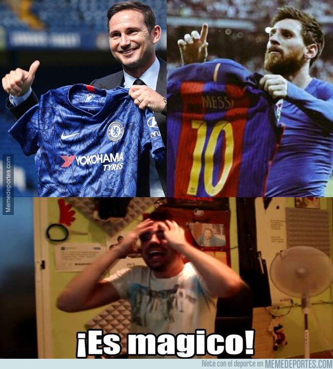 1080305 - Lampard repite el gesto mágico de Messi en el Bernabéu