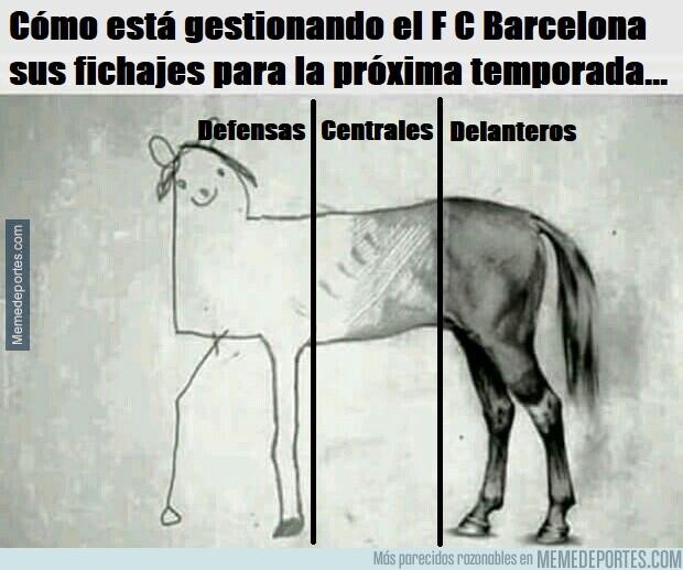 1080319 - El Barça se está olvidando de fichar más centrales y defensas que es lo que más le hace falta para la próxima temporada...