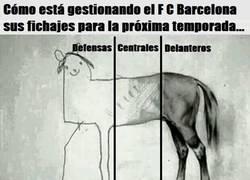 Enlace a El Barça se está olvidando de fichar más centrales y defensas que es lo que más le hace falta para la próxima temporada...
