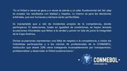 Enlace a La Conmebol le respondió a Messi, tachando de 'falta de respeto' lo que alegaba el Argentino