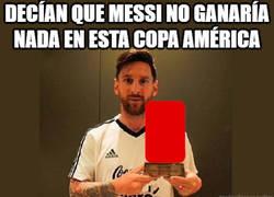 Enlace a Aunque una roja se lleva Messi