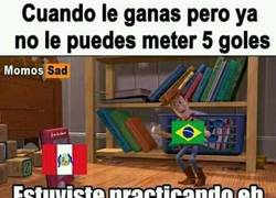 Enlace a Perú mejoró su juego