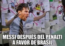 Enlace a Messi en busca de teorías conspiranoicas