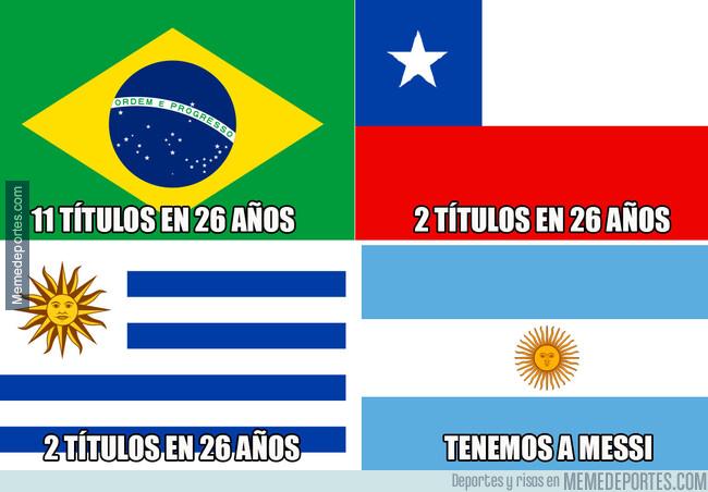 1080518 - Estadísticas de estos 4 países sudamericanos