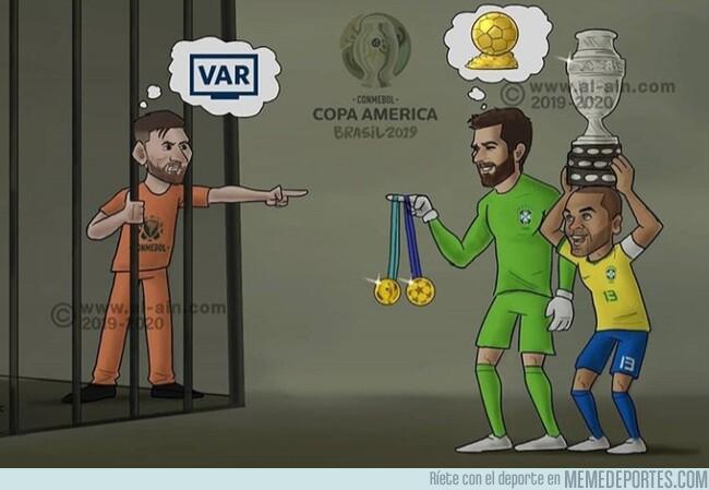 1080612 - Así se resume el desenlace de la Copa América 2019, por @zezocartoons