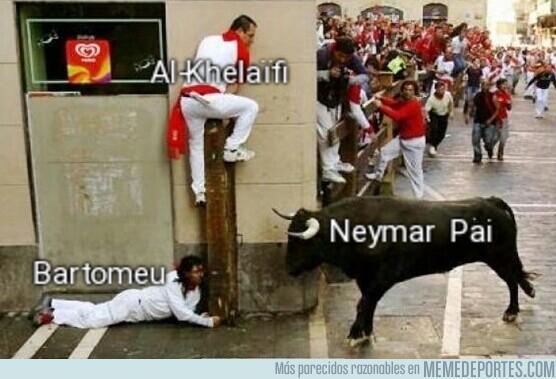1080621 - Situación actual del fichaje de Neymar