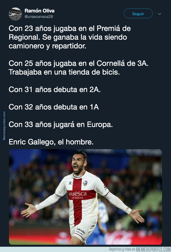 1080649 - Enric Gallego y su gran ascenso en la carrera futbolística