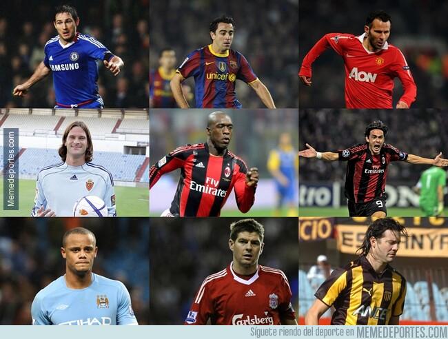 1080667 - En 2010 todos estos eran jugadores. Ahora, entrenadores.