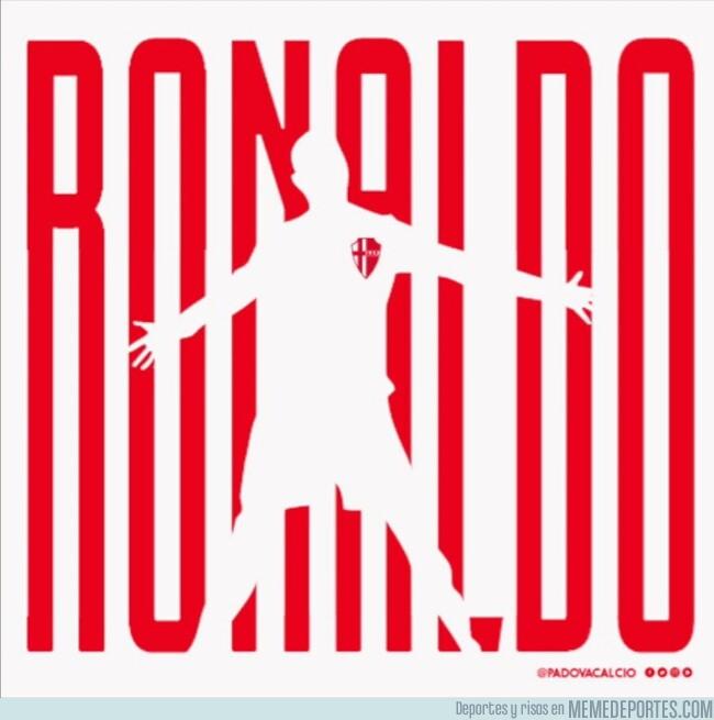 1080768 - Así presentó el Padova de la Serie C a su nuevo fichaje, Ronaldo Pompeu. ¿Os recuerda a alguien?
