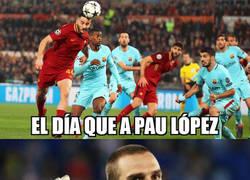 Enlace a El perico Pau López firma por el equipo que un día le dio una alegría