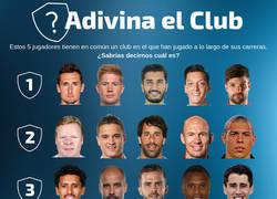 Enlace a ¿Qué equipos se esconden detrás de estos jugadores?