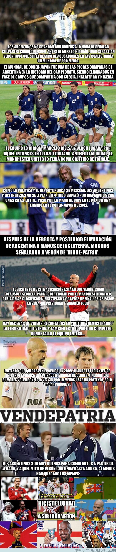 1080813 - ¿Por qué en Argentina creen que Verón es un traidor?