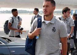 Enlace a El detalle en esta foto de Hazard que deja claro que no ha olvidado al Chelsea aún estando en el Madrid