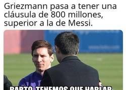 Enlace a Ahora Messi querrá revisar su contrato de nuevo