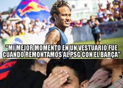 Enlace a Neymar lanza un dardo al PSG y una flor al Barça en plena negociación