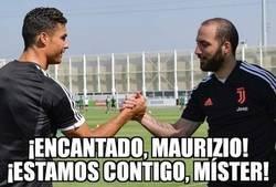 Enlace a La calvicie de Higuaín confundió a Cristiano