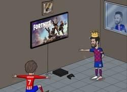 Enlace a Griezmann podrá jugar en la partida de Messi, por @brfootball