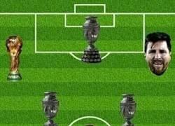 Enlace a El once titular del Barça en títulos