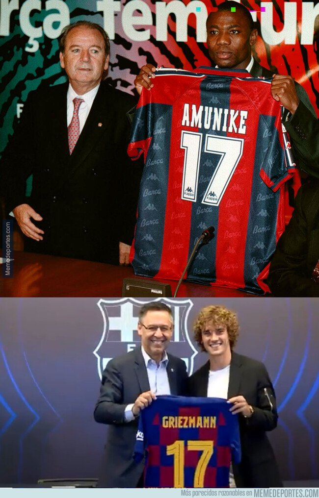 1081076 - Griezmann llevará el 17 de jugadores como Bogarde, Pedro, Alcácer y...  bueno no nos olvidemos de ESTA LEYENDA