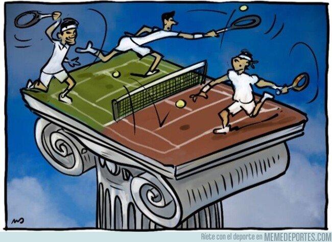 1081113 - El olimpo del tenis mundial, por @yesnocse