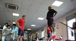 Enlace a El regreso a entrenar de Neymar