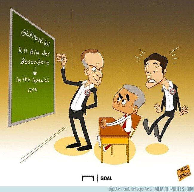 1081191 - ¡Cuidado Kovac! Mourinho está aprendiendo alemán, por @goalglobal