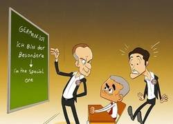 Enlace a ¡Cuidado Kovac! Mourinho está aprendiendo alemán, por @goalglobal