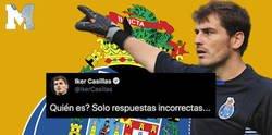 Enlace a Iker Casillas hace una pregunta inocente y se lleva la respuesta más brutal y con más humor negro con la que todo el mundo se está llevando las manos a la cabeza