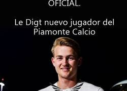 Enlace a El Piamonte Calcio hace oficial el fichaje de Le Digt del Amsterdam White-Red