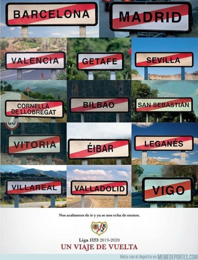1081280 - El original cartel con el que el Rayo promociona su campaña de abonos