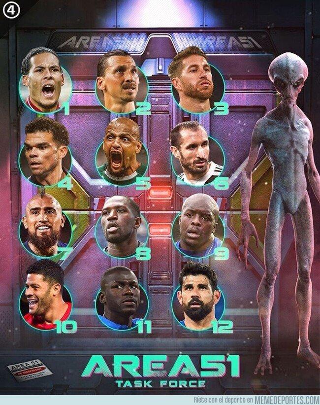 1081295 - ¿Con qué futbolista invadirías el Area 51? Por @433