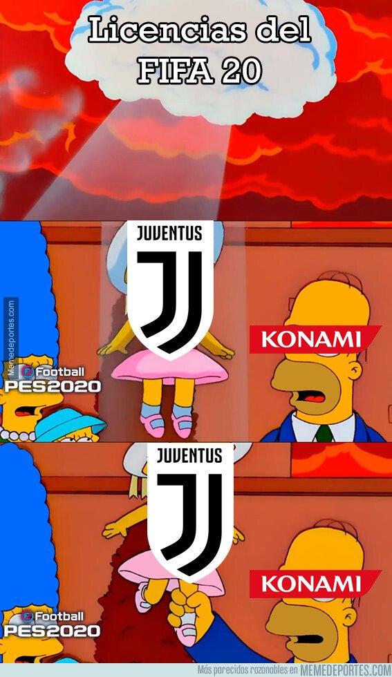 1081334 - ... Y FIFA 20 se queda sin la Juve