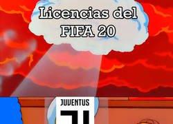 Enlace a ... Y FIFA 20 se queda sin la Juve