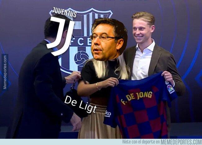 1081379 - El Barça se quedó con De Jong, pero sin De Ligt