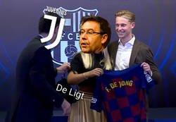 Enlace a El Barça se quedó con De Jong, pero sin De Ligt