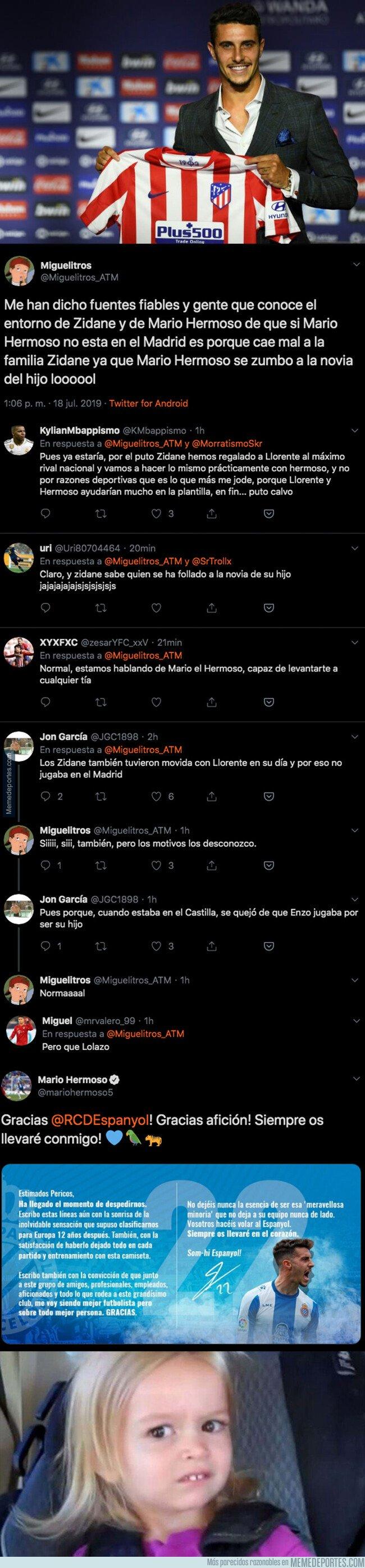 1081423 - Todo el mundo está alucinando el motivo por el que Mario Hermoso no está en el Real Madrid y ha fichado por el Atleti