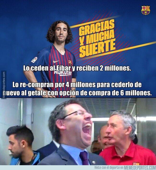 1081439 - El Barcelona es tan raro que son ellos los que pagan cuando alguien les ficha un jugador