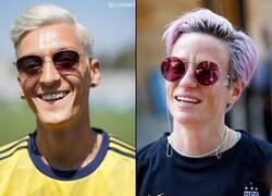 Enlace a Ozil se tiñó el cabello y ahora tiene pinta de querer ignorar fanáticos
