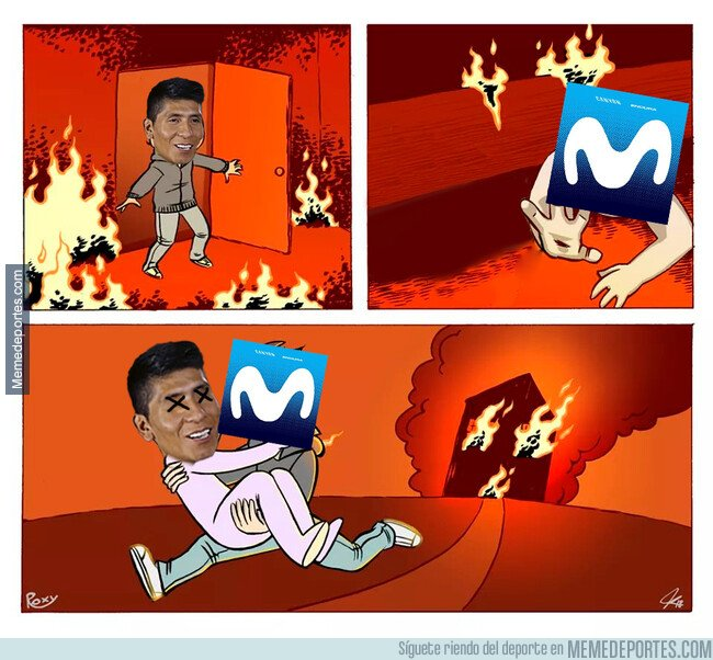1081576 - Este meme dejó sin piernas a Nairo