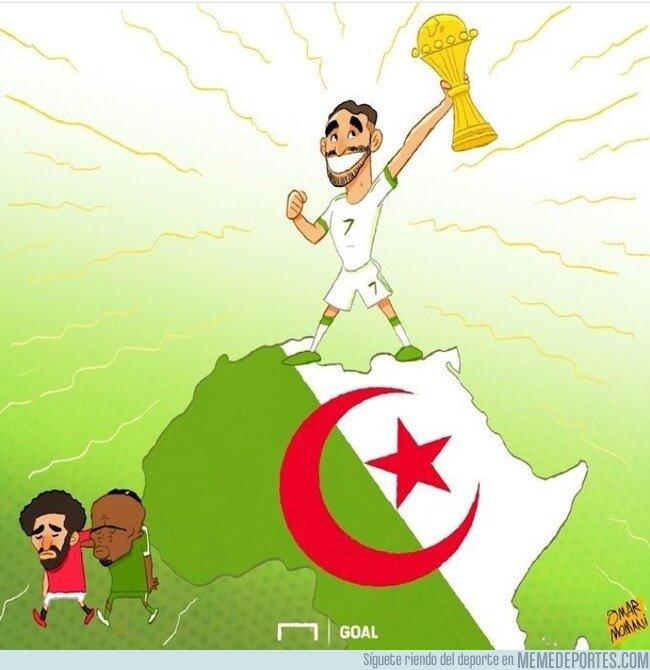 1081611 - Mahrez se convierte en el verdadero rey de África, por @goalglobal