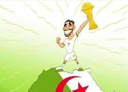 Enlace a Mahrez se convierte en el verdadero rey de África, por @goalglobal