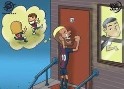 Enlace a Neymar busca nuevas salidas, por @koortoon