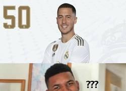 Enlace a Cuando ves el número con el que debutará Hazard